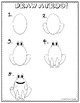 Frog Cinquain Poem and Directed Draw (Freebie)