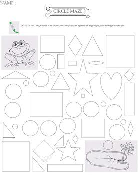 Frog Circle Maze