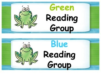 Frog Classroom Decor