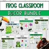Frog Classroom Decor Bundle