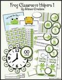 Frog Classroom Helpers Set 1