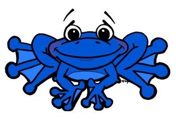 Frog Clip Art (C) Shaunna Page 2015