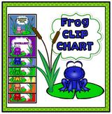 Frog Clip Chart Frog Behavior Management