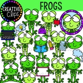 Frog Clipart {Animal Clipart}