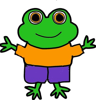 Frog Clipart Pack- Personal and Commercial Use