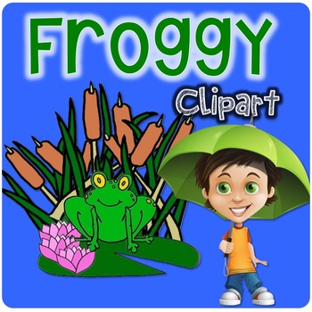 Frog Clipart for Froggy Lovers!
