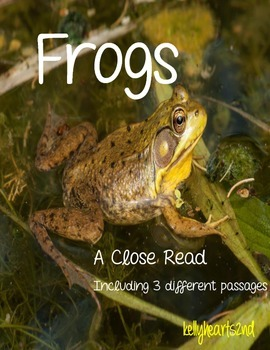 Frog Close Read Pack