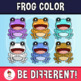 Frog Color Clipart