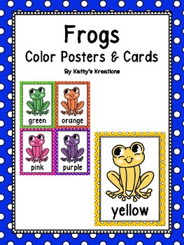 Frog Color Posters & Memory Cards