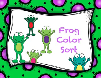Frog Color Sort