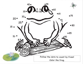 Frog Count By Five's Dot to Dot! by NJF | Teachers Pay ...