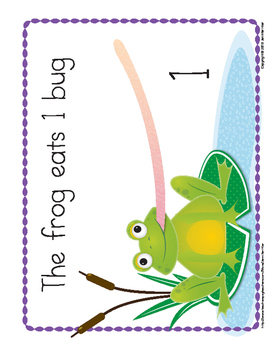 Frog Counting Book