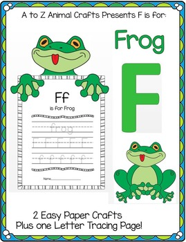 Frog Craft By Crafting Education