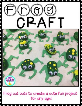Amphibian Frog Craft {Any Age!}