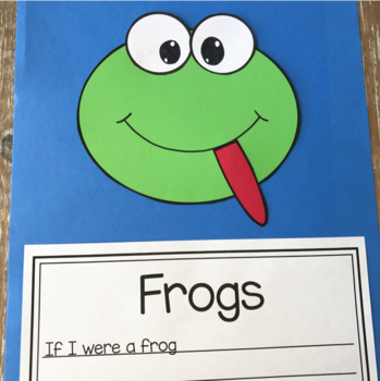 Frog Craft With Writing Prompts/Pages