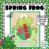 Spring Frog Craft and Life Cycle Poem