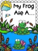 Frog Craft and Life Cycle Poem Spring