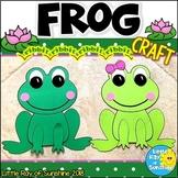 Frog Craft for Spring