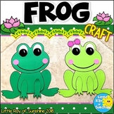 Frog Craft for Spring