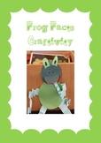 Frog Craftivity- information writing