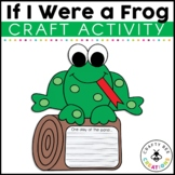 Frog Craft {If I Were a Frog Writing Prompts}