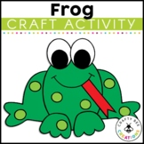 Frog Craft   Frog Life Cycle   Spring Activities   Spring Craft Activity