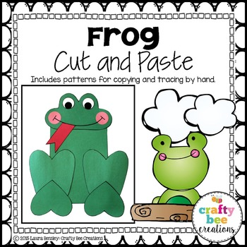 Frog Cut and Paste
