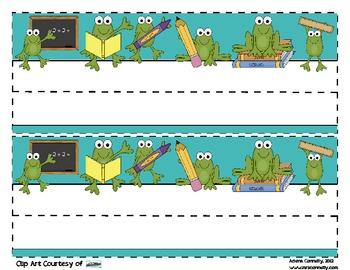 Frog Desk Tag