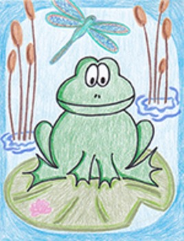 Frog Directed Draw