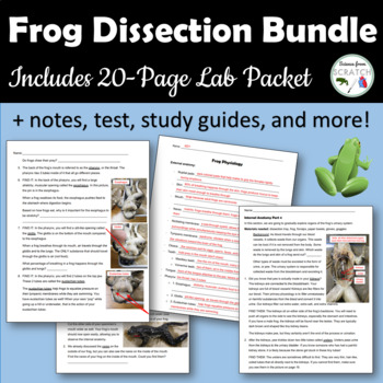 Frog Dissection Bundle