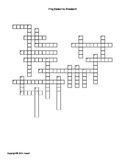 Frog Dissection Crossword