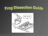 Frog Dissection Guide, Pre-Lab, and/or Review