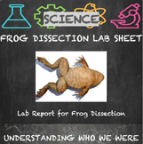 Frog Dissection Lab Sheet