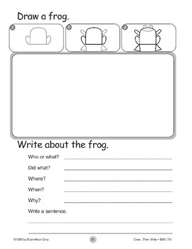 Frog (Draw...Then Write)