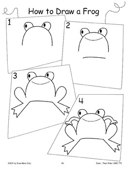 Frog (Draw Then Write)