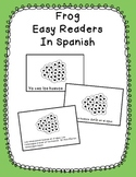 Frog Easy Readers in Spanish