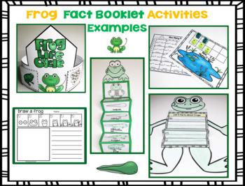 Frog Fact Booklet Activities