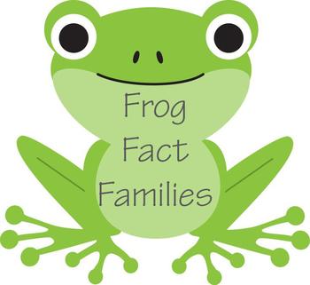 Frog Fact Family Worksheet - K5-2nd Grade