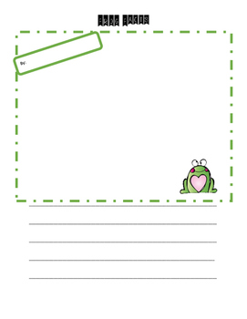 Frog Facts Free Write