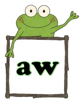 """Frog Flashcards"" Phonograms/Word Families"
