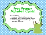 Frog Frenzy Alphabet Cards