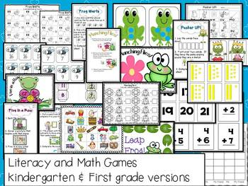 Frogs Frog Frenzy Math and Literacy Fun!  Nonfiction: Aligned with Common Core