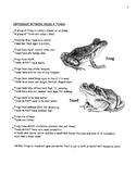 Frog Fun Facts