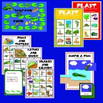 Frog Game Set