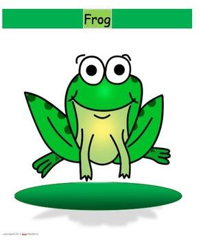 Frog - Goat Game - short and long /o/ vowel discrimination word sort