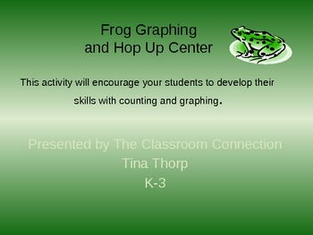 Frog Graphing Hop Up Center