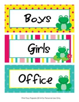Frog Hall Passes