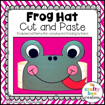 Frog Hat Cut and Paste