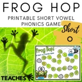 Frog Hop! A Short /o/ Vowel Practice Game {Meets Common Core}