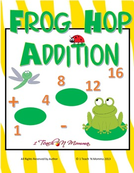 Frog Hop Addition